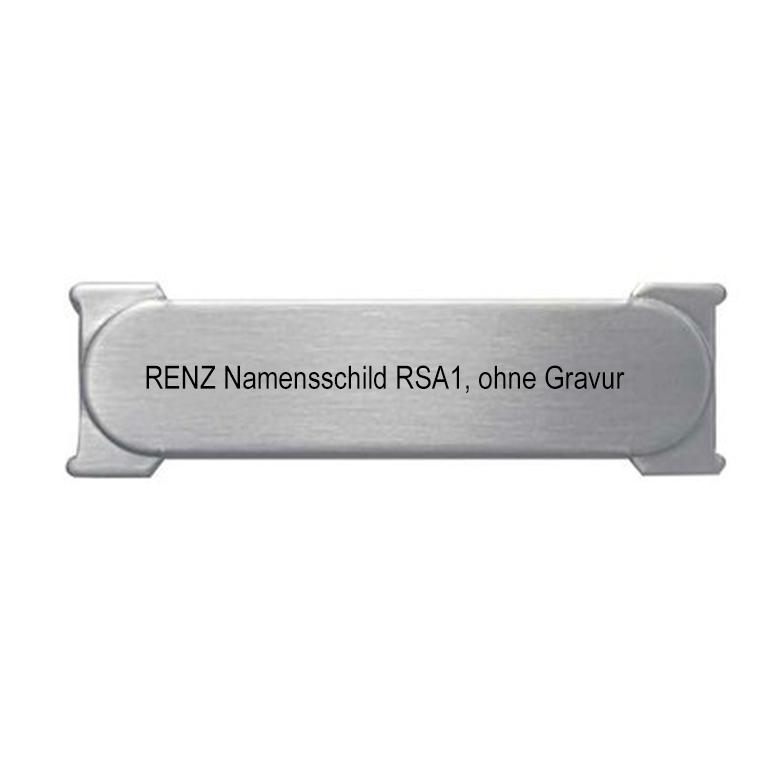 RENZ RSA-Namensschilder
